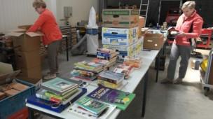 boeken sorteren